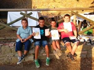 I piccoli vincitori a Montesperello - 12 luglio 2015