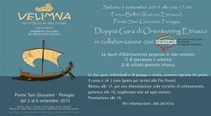 5 settembre 2015 Doppia gara di Orienteering Etrusco